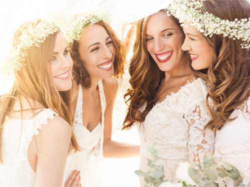 After Wedding Sessioon Bride and Bridesmaids
