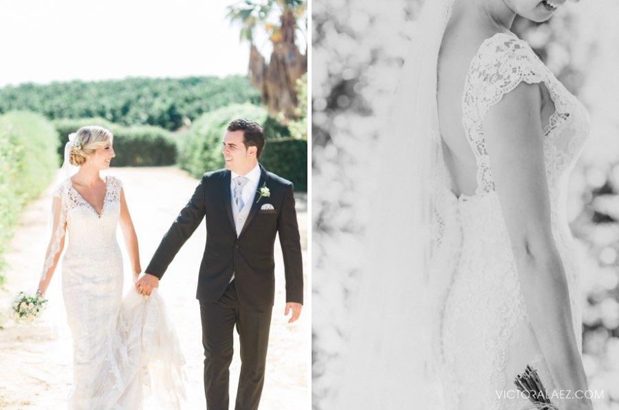 Outdoor Sunny Wedding in Hacienda los Miradores, Seville