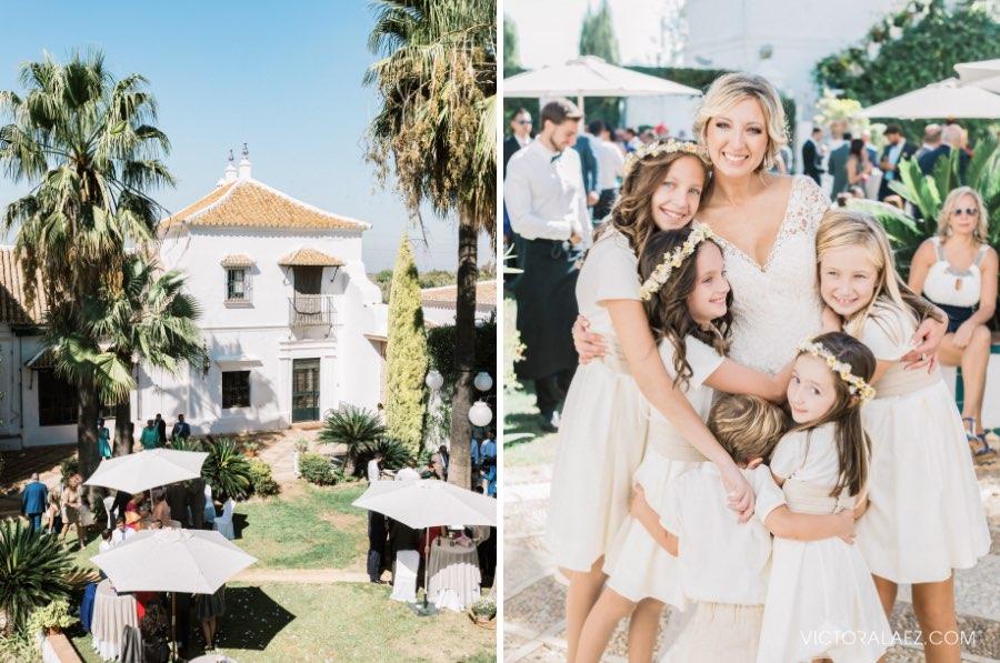 Outdoor Wedding in Hacienda Los Miradores