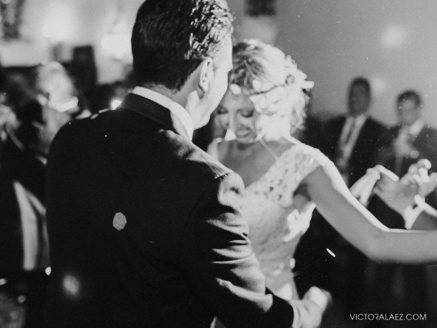 Indoor Wedding Reception in Hacienda los Miradores, Seville