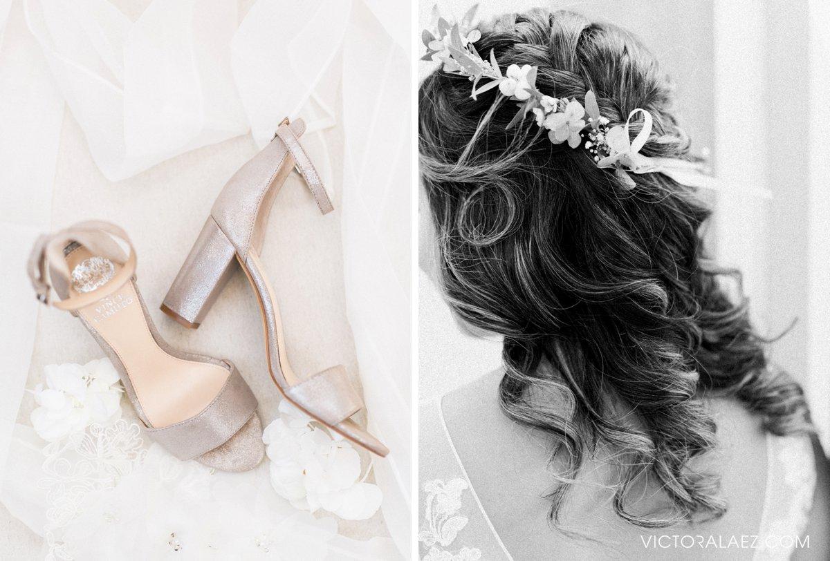 Bridal Details of Destination Wedding in Hacienda la Torre