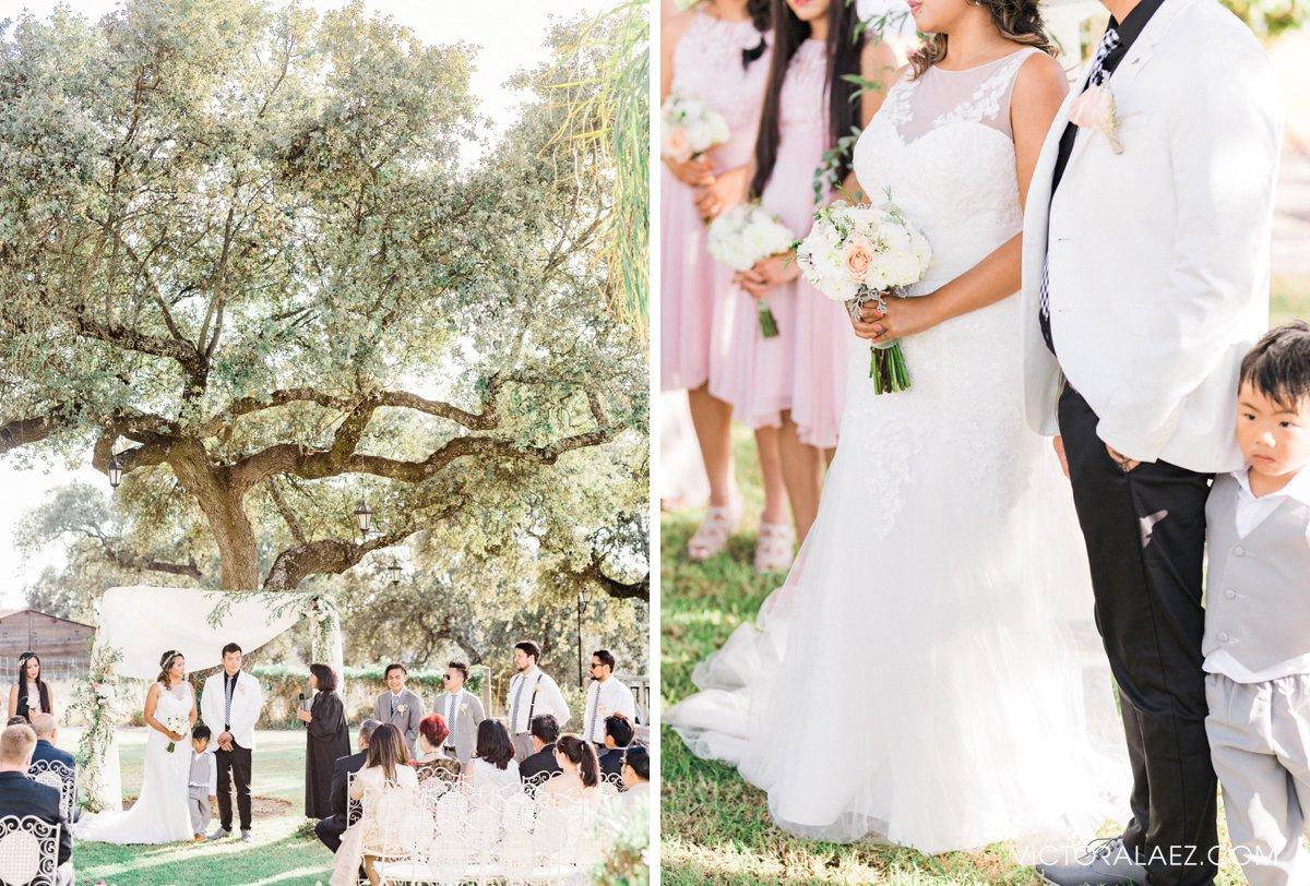Outdoor Wedding Ceremony in Hacienda la Torre, Cordoba