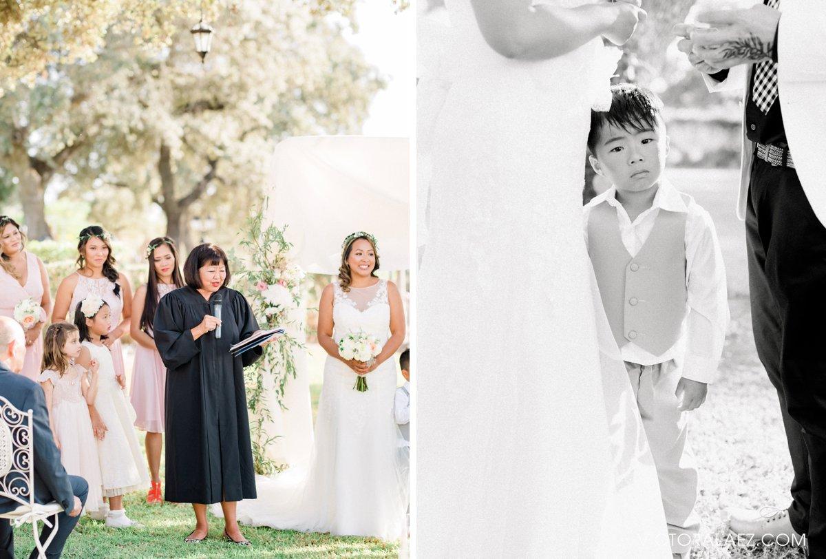 Outdoor Wedding Ceremony Moments in Cordoba