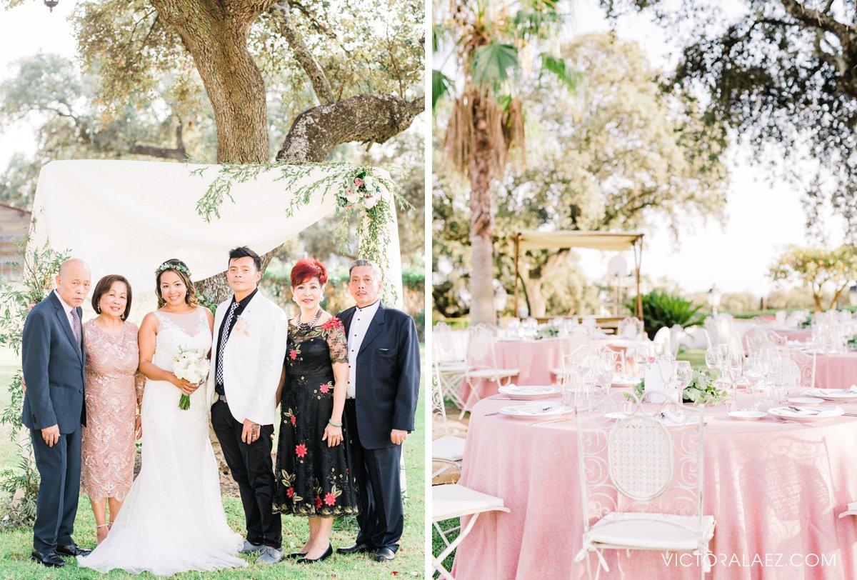 Family Formals in Destination Wedding in Hacienda la Torre