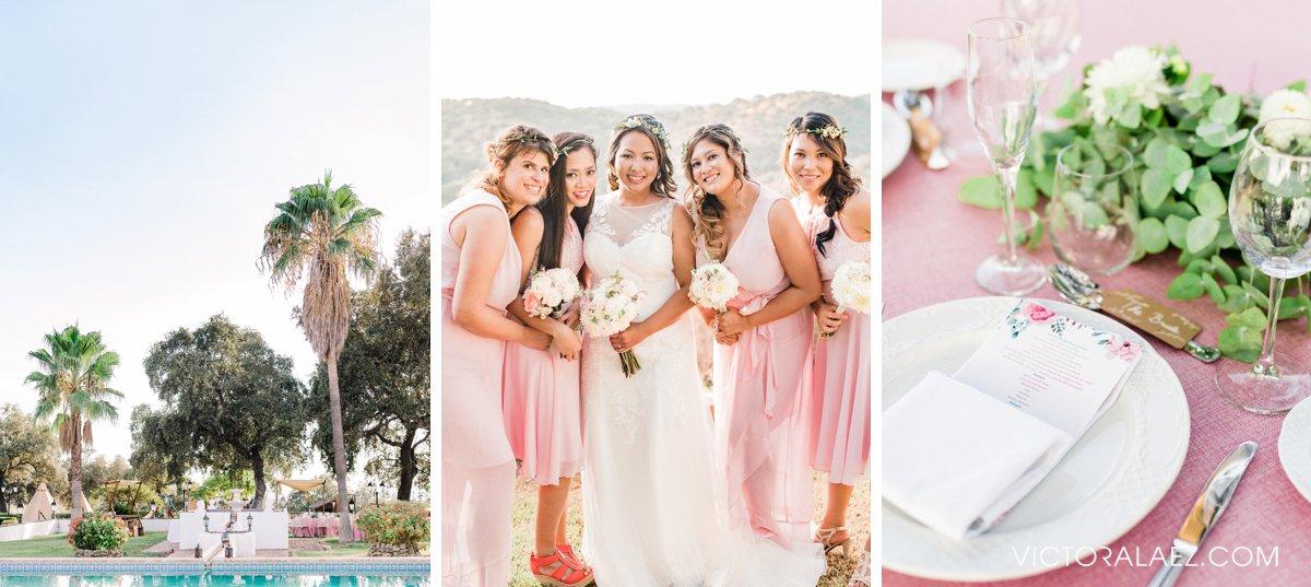 Pink Palette of Destination Wedding in Cordoba