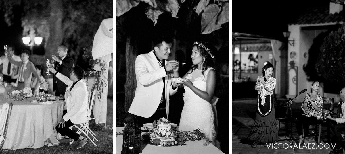 Wedding Reception Moments in Destination Wedding in Cordoba