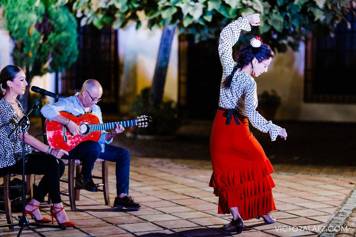 Espectáculo de Flamenco en Boda de Destino en Hacienda la Torre
