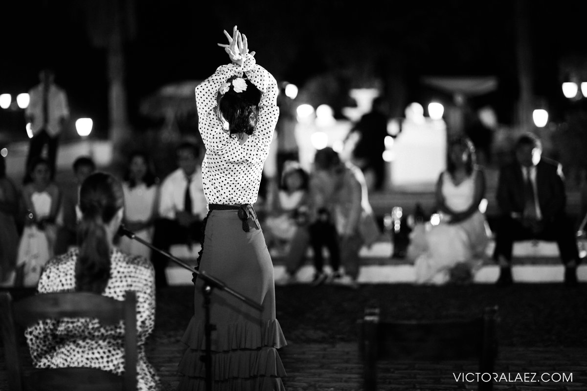 Flamenco Show in Destination Wedding in Cordoba