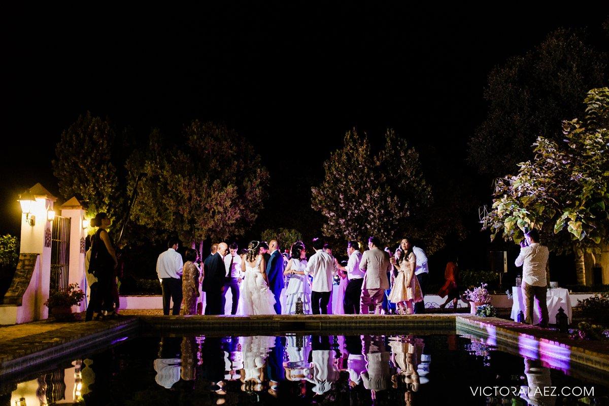 Dance Wedding Party in Hacienda la Torre