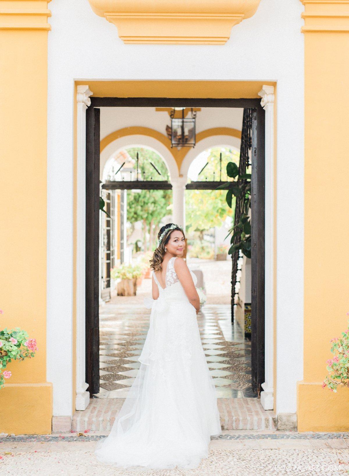 Bridal Portraits in Hacienda la Torre, Cordoba