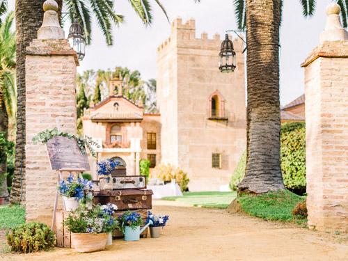 Wedding in Castillo de la Monclova