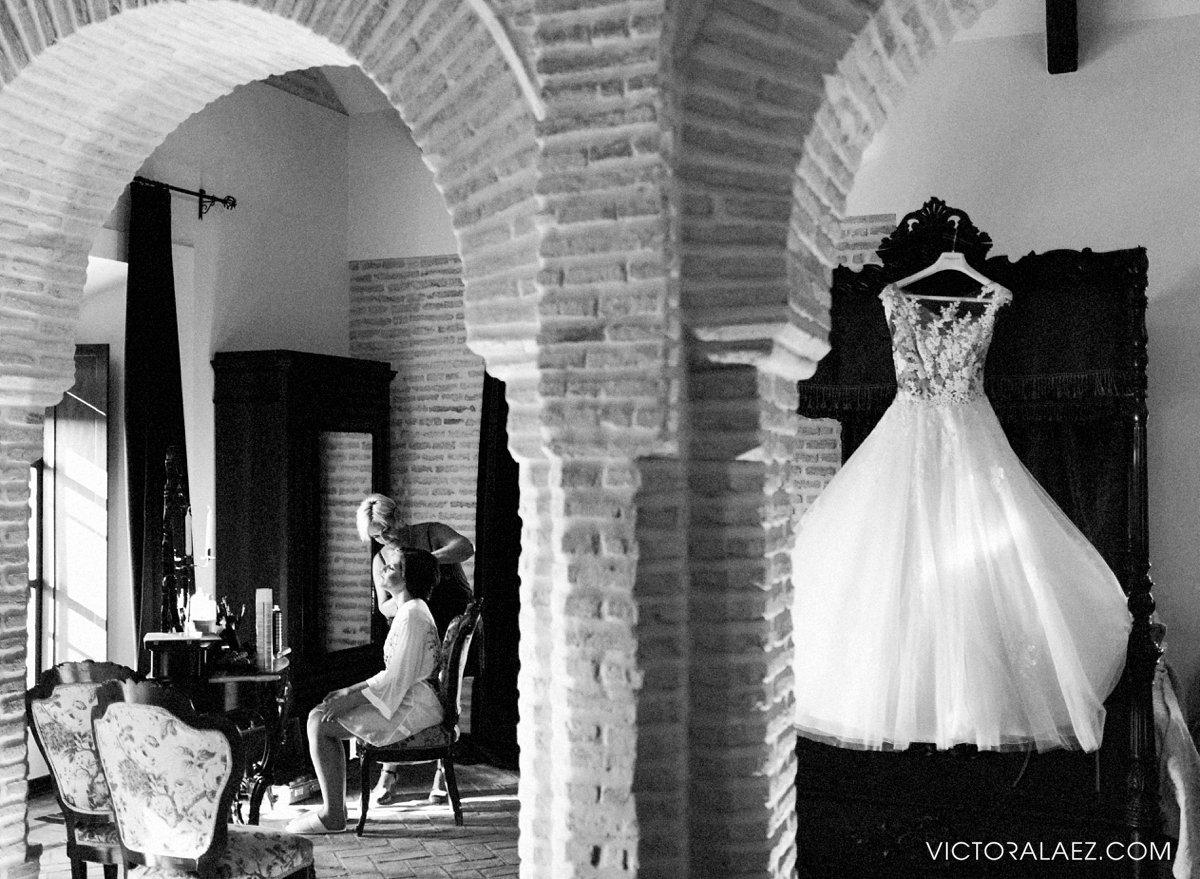 Getting Ready Room in Castillo de la Monclova