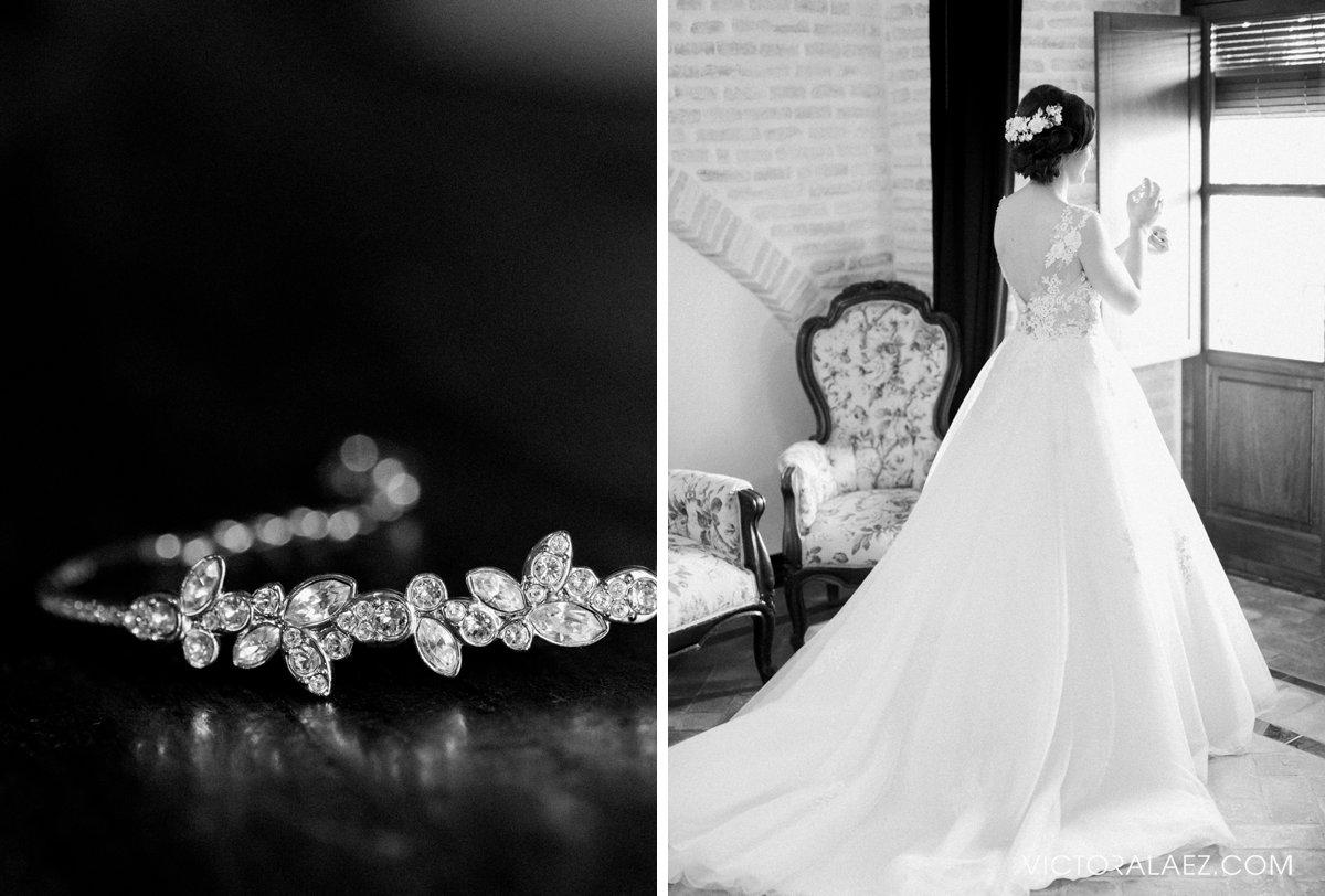 Bride Getting Ready Details in Castillo de la Monclova