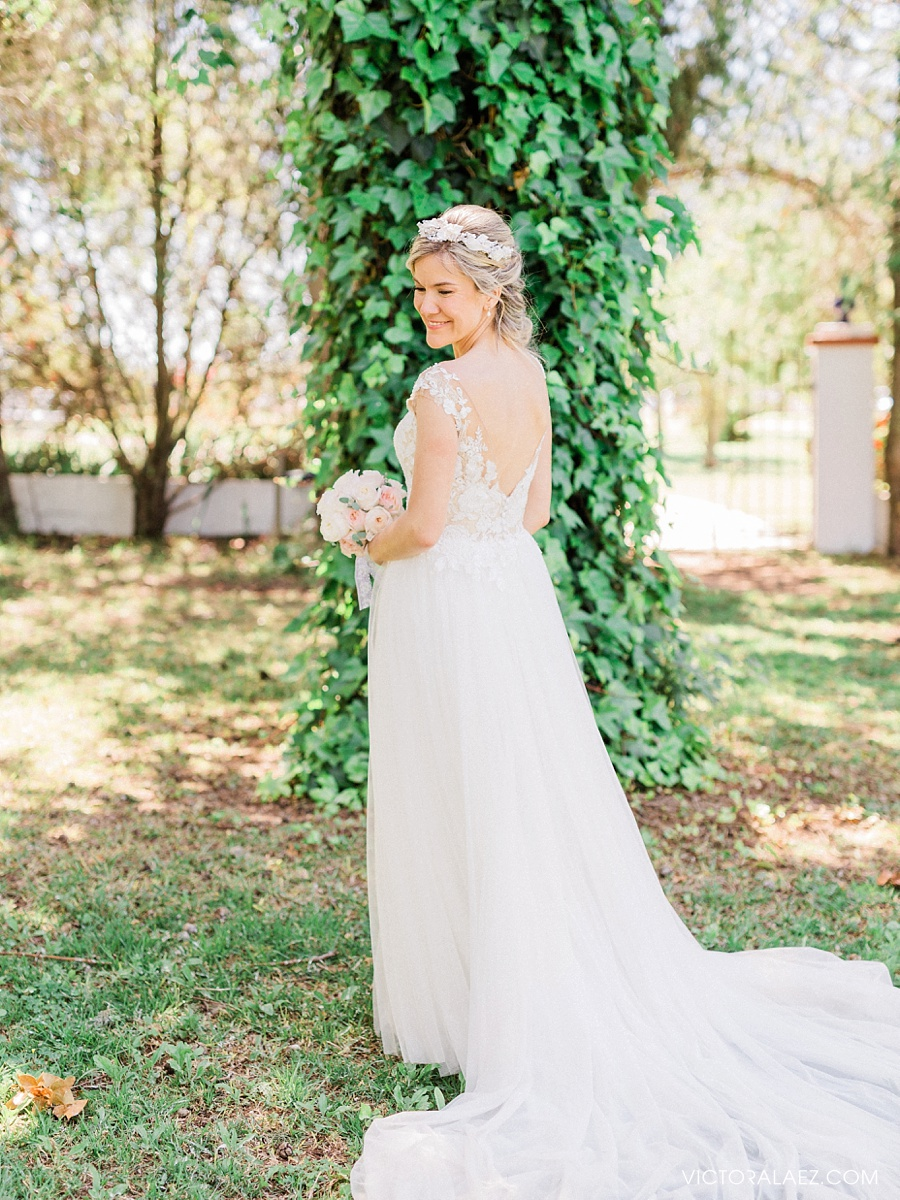Light and Airy Bride Portrait in Seville