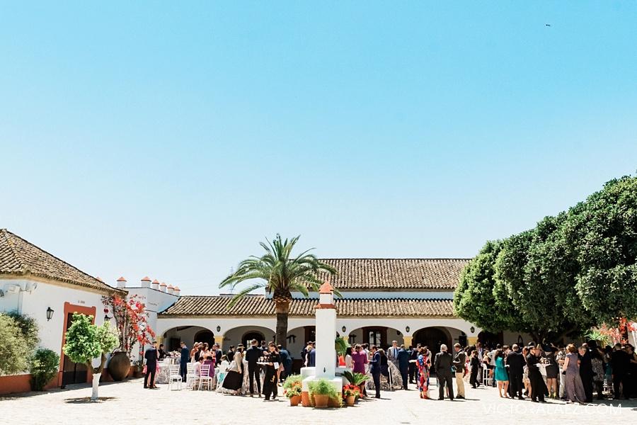 Cortijo el Chamorro Wedding Venue Patio