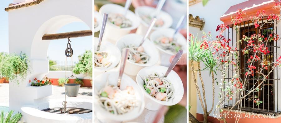 Wedding venue Details in Cortijo el Chamorro