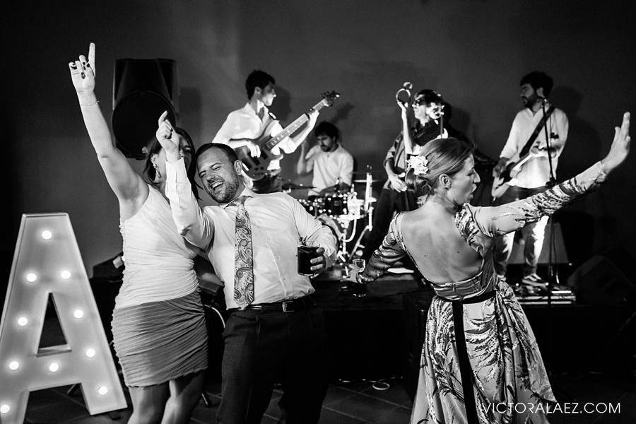 Dance Wedding Party in Cortijo el Chamorro