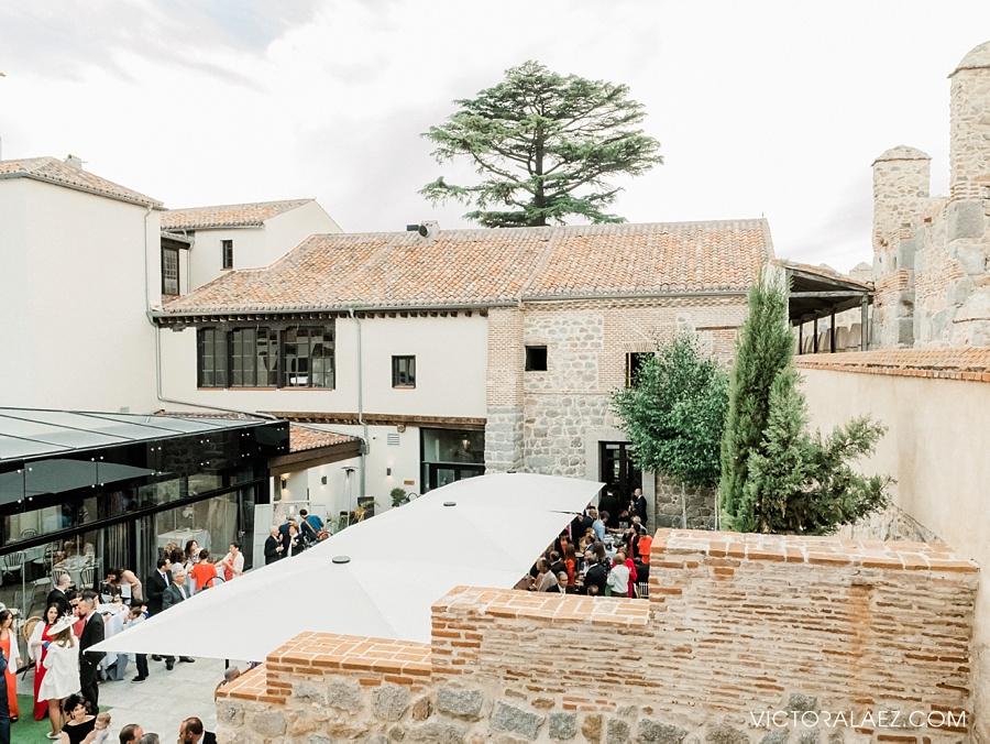 Wedding in Sofraga Palacio, Avila