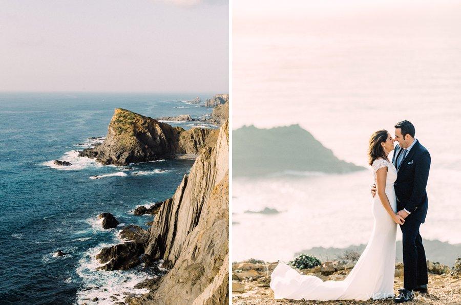 Day-after wedding session in El Algarve