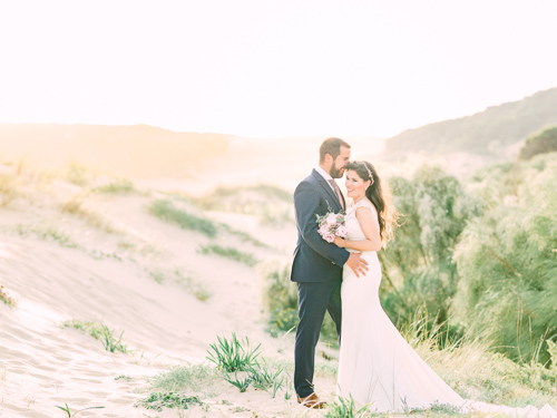Bride and Groom Photoshoot in Conil by Victor Alaez