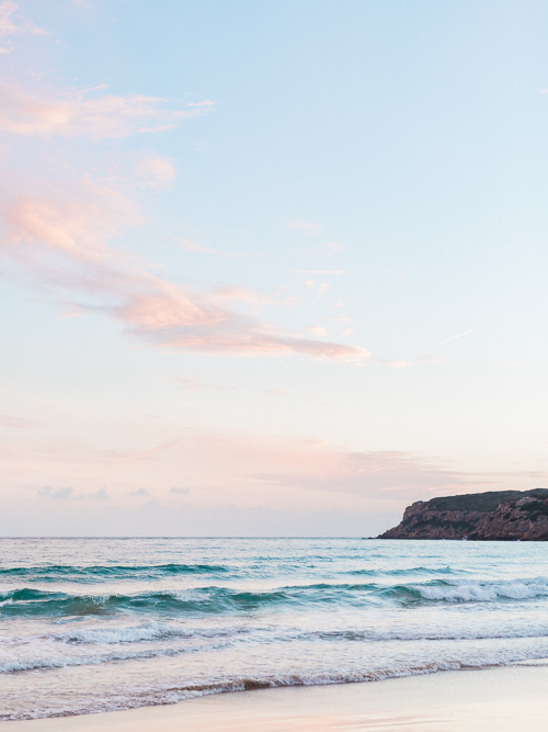 Sunset Photograph in Conil Beach Cadiz