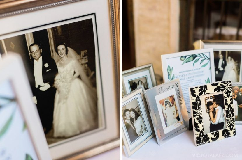 Photo Frames of Family Memories Wedding in Seville