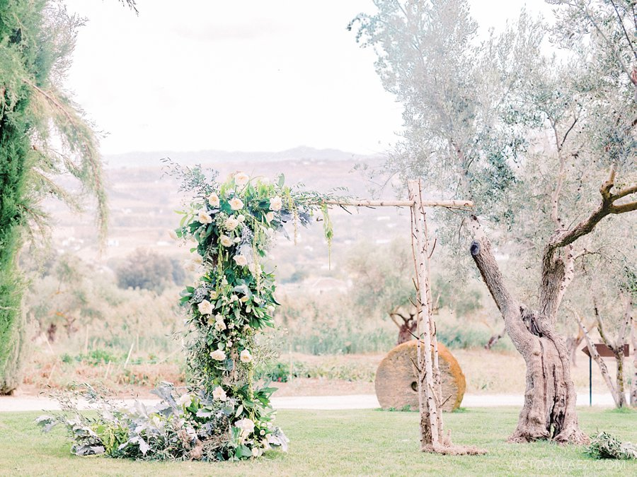 Wedding Ceremony Details in Ronda, Malaga