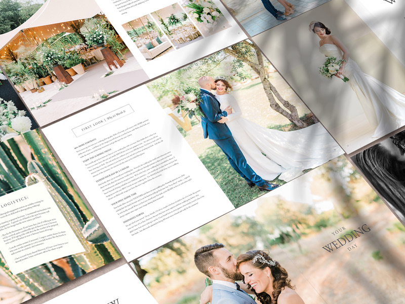 The Bridal Guide by Victor Alaez Inside Pages