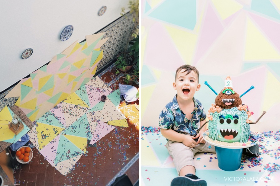 Birthday Party DIY Background