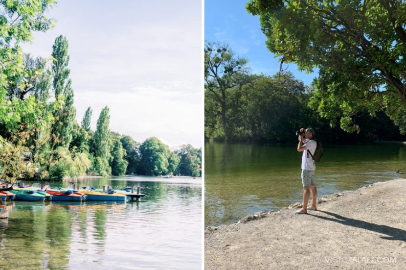 Photographing Park in Munich